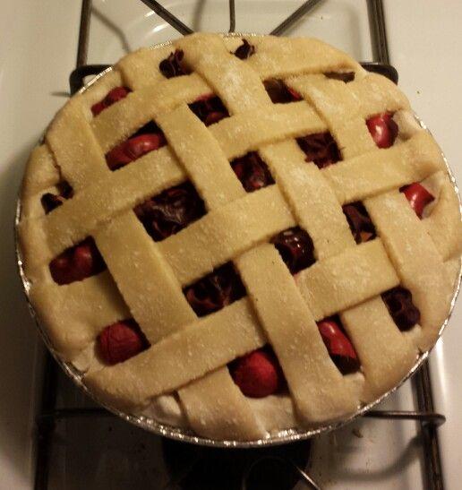 My newest addition salt dough Apple cinnamon potpourri pie