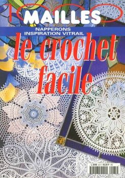 MAGAZINE: Crochet doilies ♥LCB-MRS♥ with diagrams.