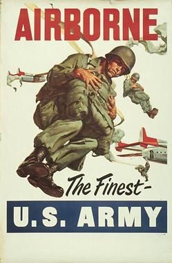 Airborne recruiting poster <3  Fort Campell! Home of the 101st Airborne <3