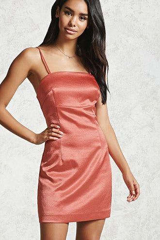Contemporary Satin Dress