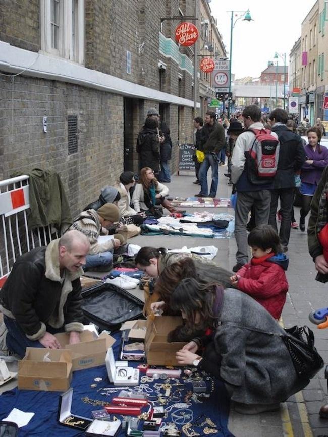 Bacon Street AGAIN!!!!!!!  Brick Lane Market, London, United Kingdom