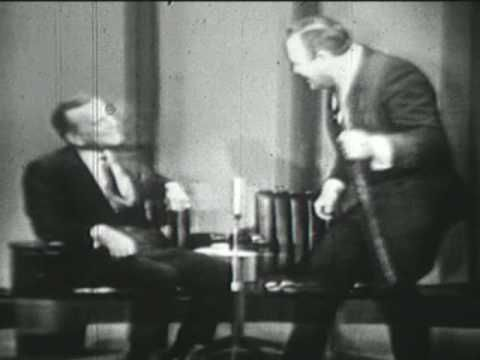 """Jonathan Winters  """"The Stick"""" Apr 1964 Jack Paar. 4 hilarious minutes with just a stick. He will be missed!"""
