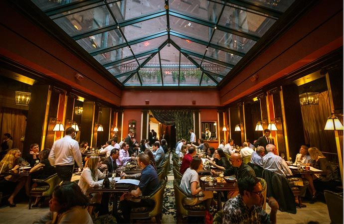 The Nomad restaurant interior, New York. Check out why is this place on the Top ones!