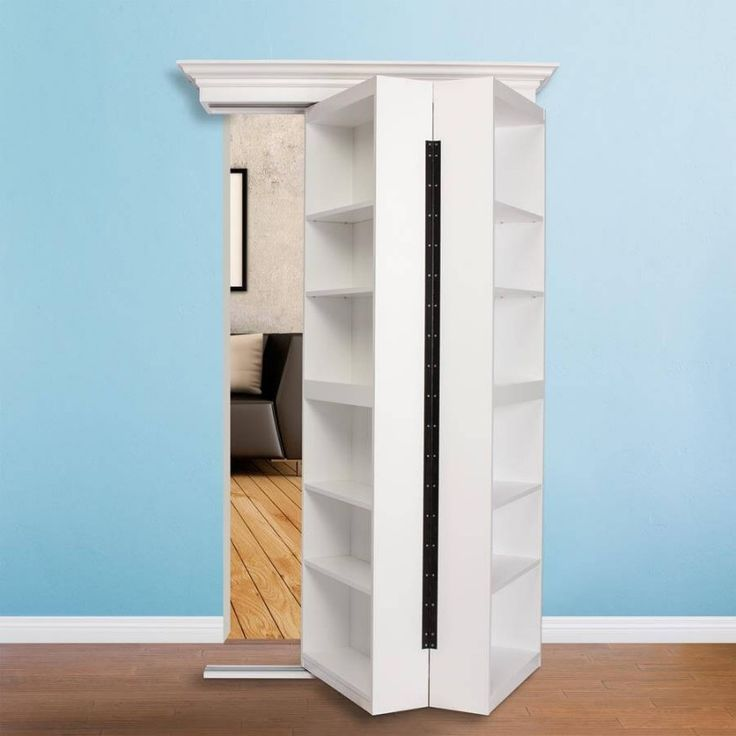 Some People Call Them A Bookshelf Door But We Simply Call Them A Murphy Door.  The Surface Mount Door By Murphy Door Uses Our Patented Hidden Door  Hardware ...