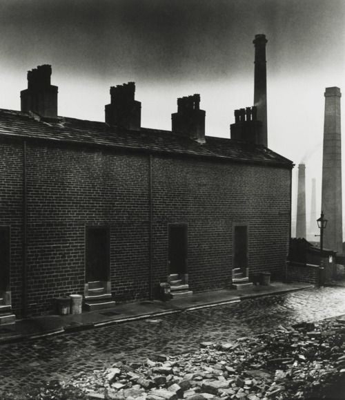Coal Miners' Houses, East Durham. Photo by Bill Brandt, 1937
