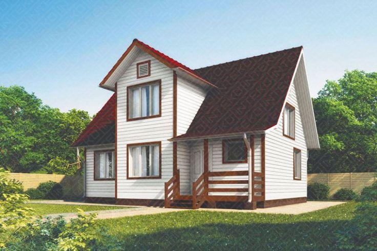 Каркасный дом Лайт