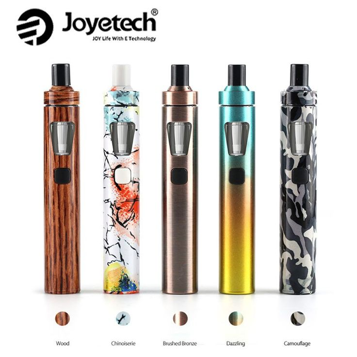 Original Joyetech eGo AIO Quick Kit New Colors 1500mAh 2ml Capacity All-in-One Kit Electronic Cigarette Vaporizer Original vs ijust s
