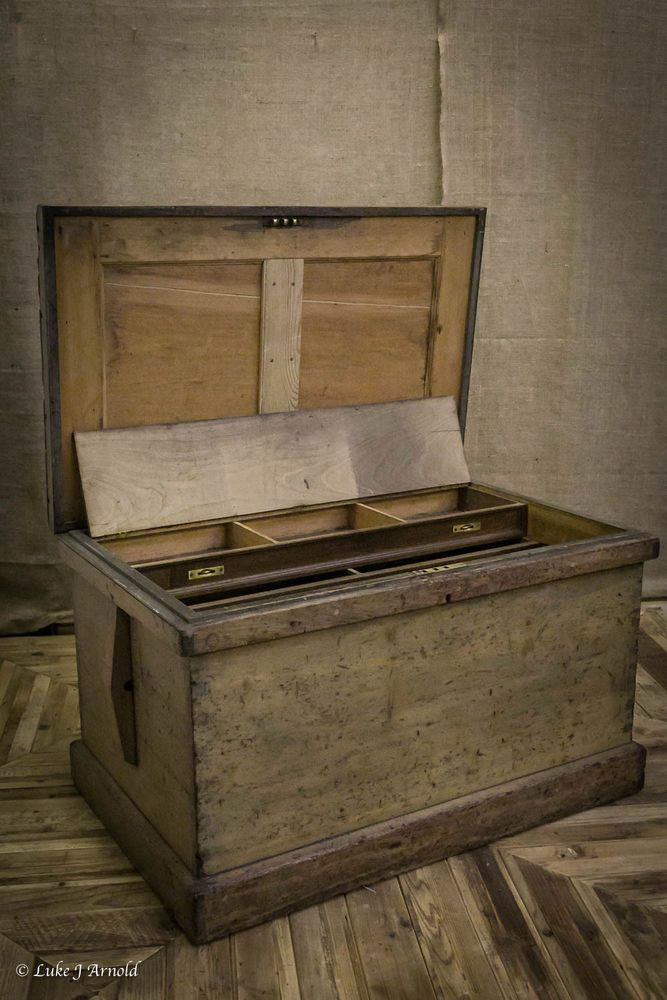 Early 19th Century Joiners Tool Chest