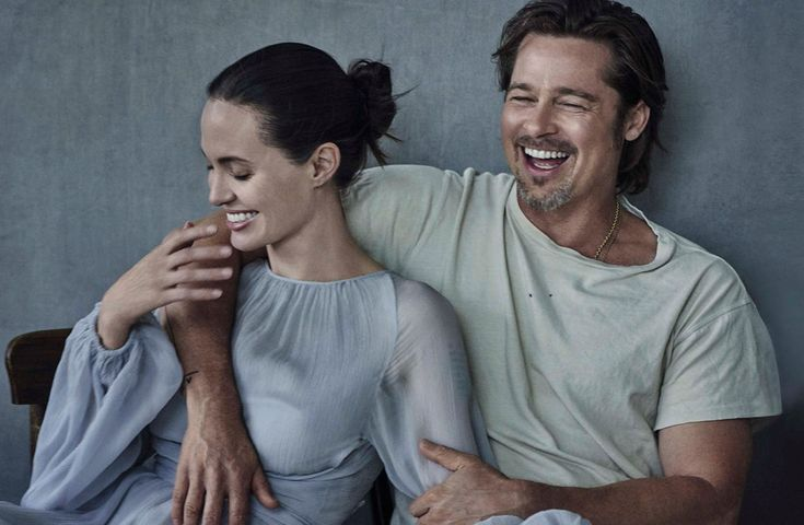 Angelina Jolie & Brad Pitt for Vanity Fair Italia November 2015