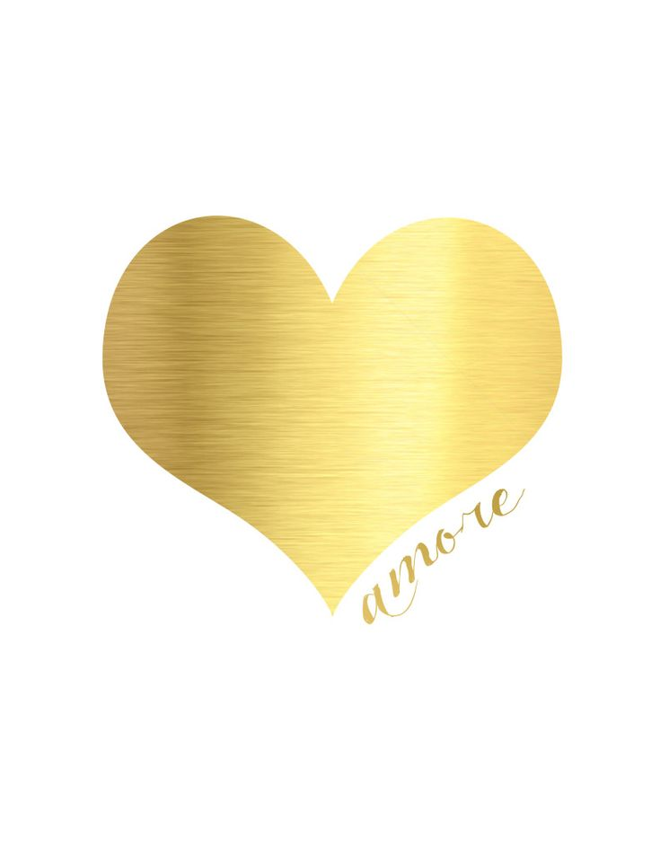 Gold Valentine's Day Printables