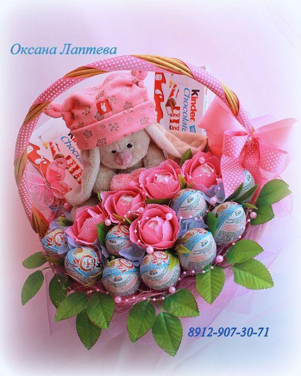 Gallery.ru / Фото #144 - Букеты из конфет 2 - laptewaoxana