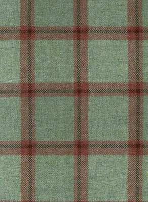 Check Tartan Scottish Wool
