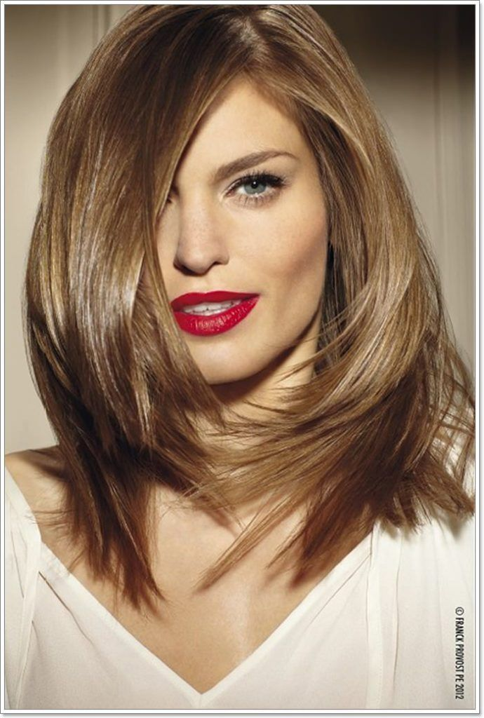101 Best Hairstyles For Square Faces That You Can Try Today In 2020 Hair Lengths Medium Length Hair Styles Medium Hair Color
