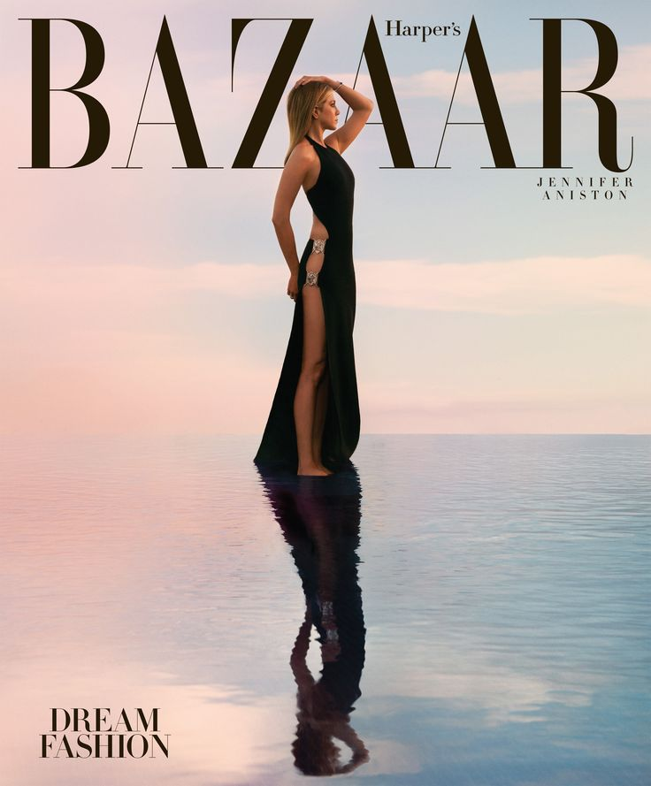 Dream Fashion: Jennifer Aniston covers the April 2016 issue of Harper's BAZAAR. See the full fashion shoot here: