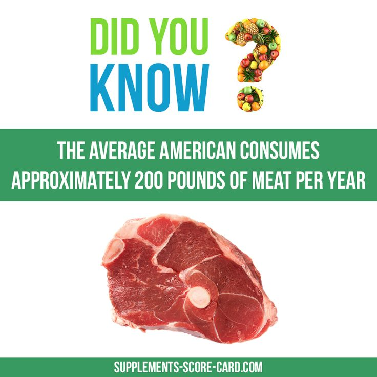 Americans and meatThe average american consumes approximately 200 pounds of meat per year