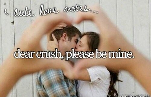 Just girly things\ dear crush, please be mine.