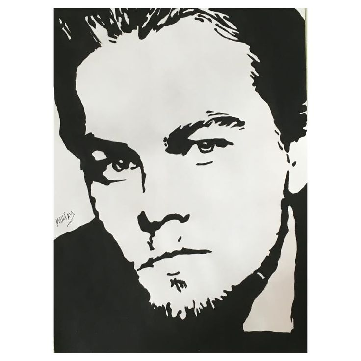 Leonardo Di Caprio Pop Art