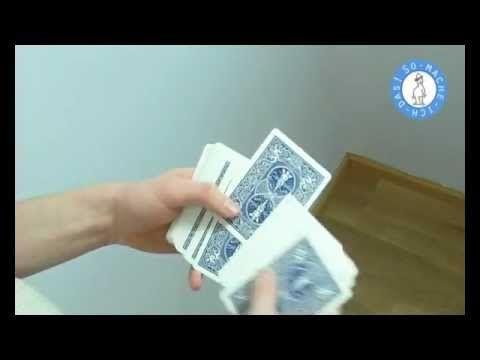 Der Kartentrick | Zaubertricks für Groß und Klein