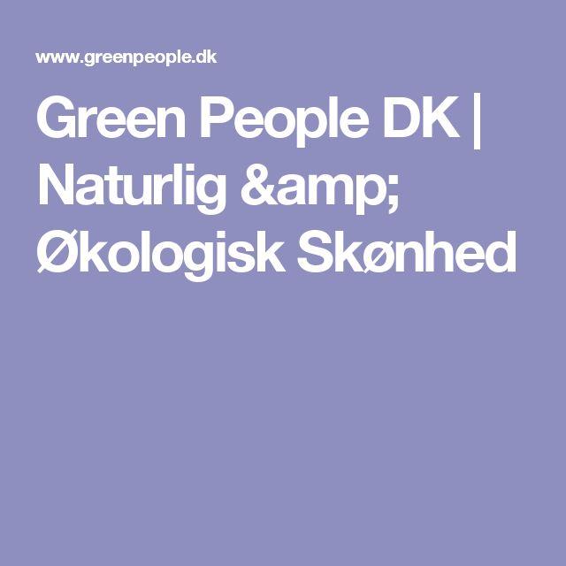 Green People DK   Naturlig & Økologisk Skønhed