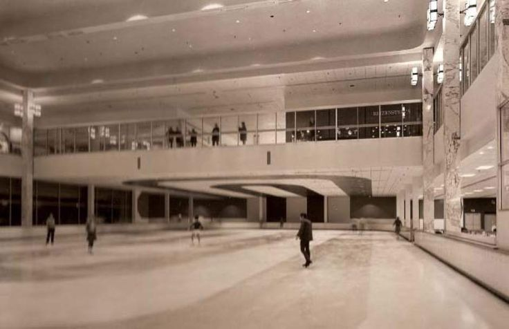 ice palace at monroeville mall in monroeville pa. I loved skating here!!!  and seeing the people eating thru the windows
