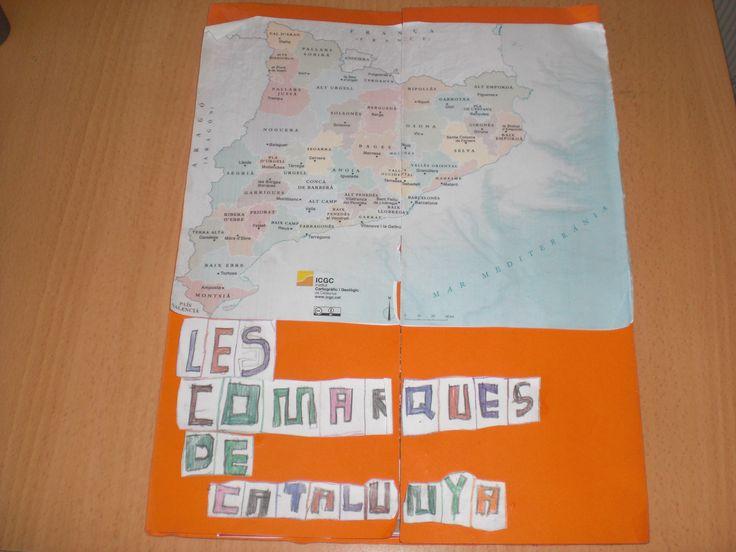 lapbook comarques de Catalunya