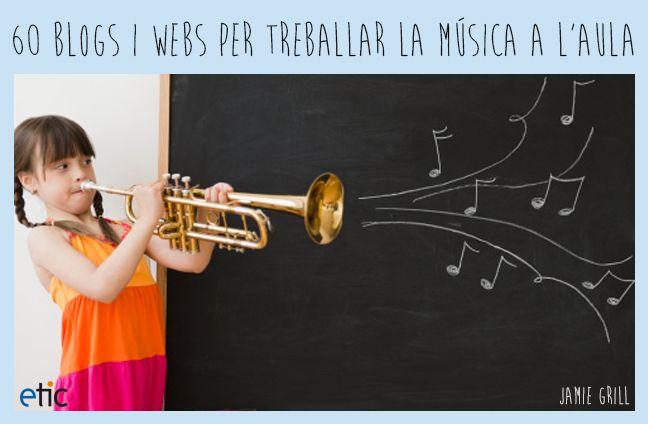 Títol: Treballar la música a l'aula Autor: anonim En aquesta imatge podem veure com una nena toca un instrument de música