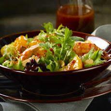 Mixed Greens with Mandarins and Thai Lime Vinaigrette Recipe