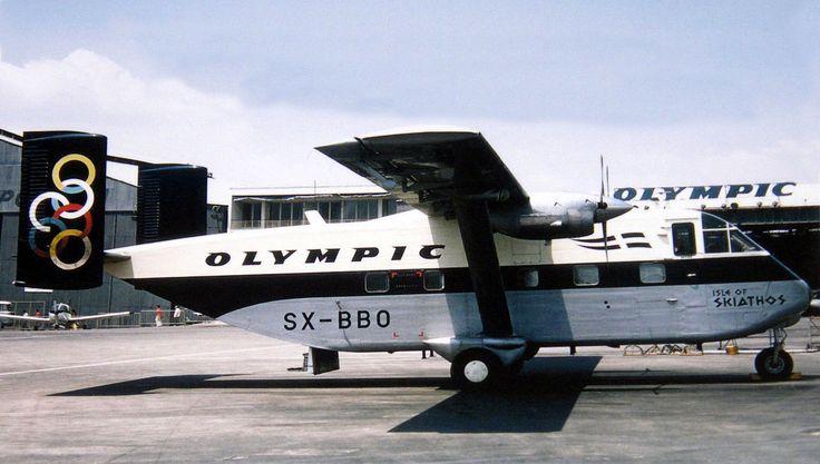 Olympic Aviation Shorts SX-7 skyvan [Isle of Skiathos]-[SX-BBO]