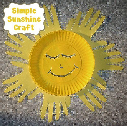 Simple Sunshine Craft | About Family Crafts