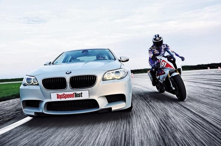 BMW M5 vs BMW S1000RR
