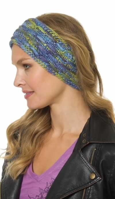 Free Knitting Pattern Mens Headband : Floating Flurry Headband -- free #knitting pattern! Free Projects Pintere...