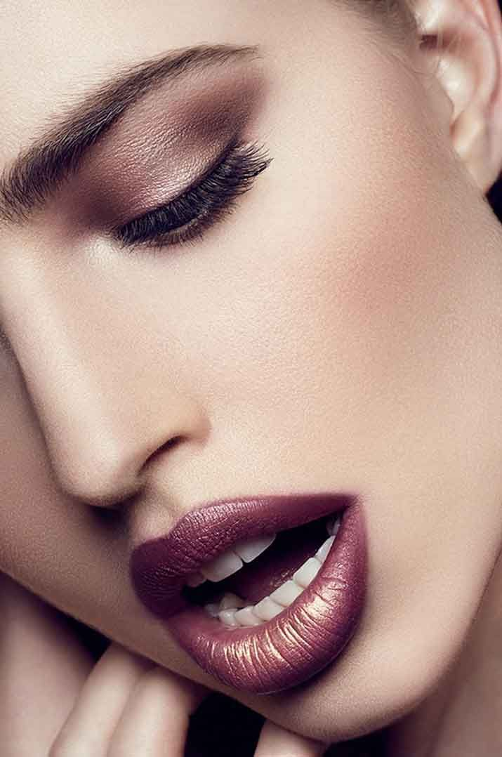 Maroon Lipstick combination