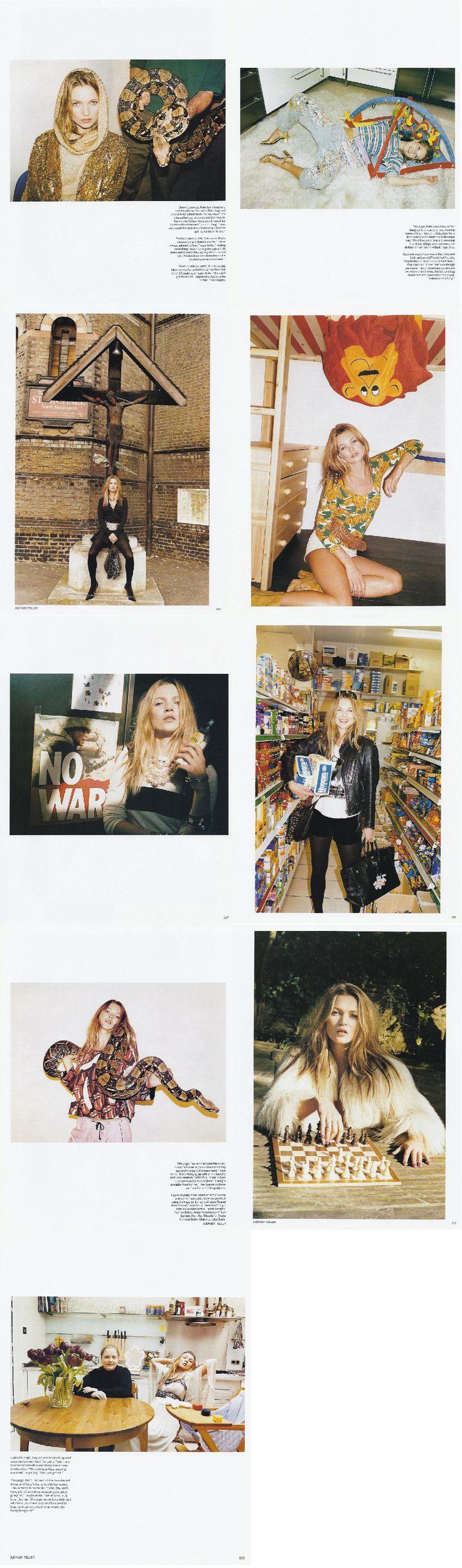 Photographer: JUERGEN TELLER MODEL:  Media: VOGUE (British) MAY 2003 ISSUE. Stylists: Anita Pallenberg & Bay Garnett