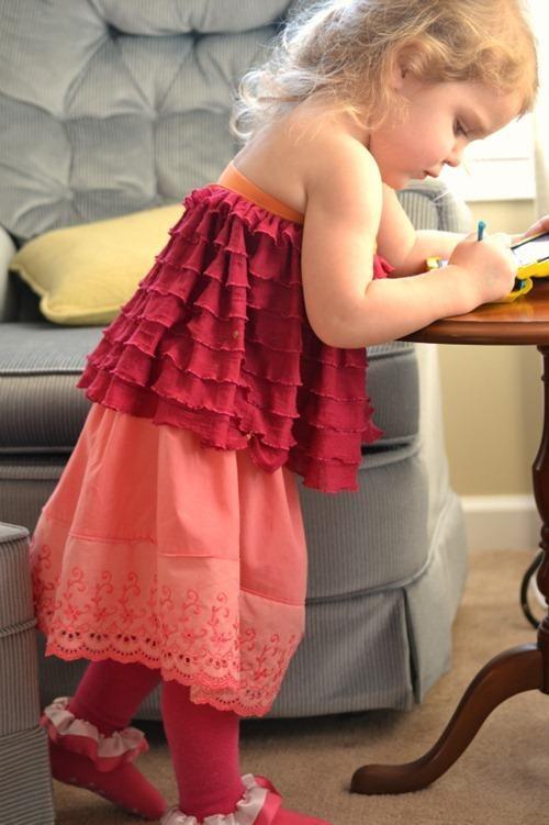 DIY Clothes DIY Refashion DIY Pillowcase Skirt
