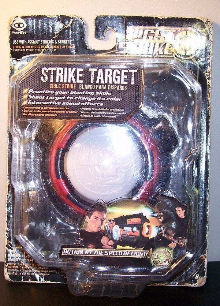 NIP Single WowWee Light strike Strike Target.  #WowWee