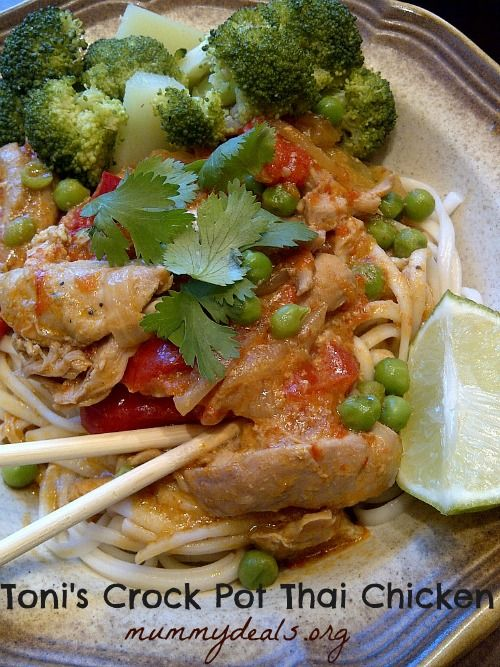 113 best thai food recipes images on pinterest asian recipes thai crock pot thai chicken looking for a chicken recipe for your crock pot look forumfinder Gallery