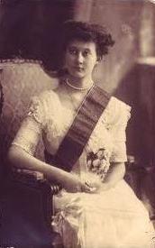 Grand-Duchesse de Luxembourg Marie Adelheid Thérèse Hilda Wilhelmine von Nassau-Weilburg, the eldest daughter of Wilhelm IV von Nassau-Weilburg, Grand-Duc de Luxembourg and Maria Anna do Carmo de Bragança, Infanta de Portugal