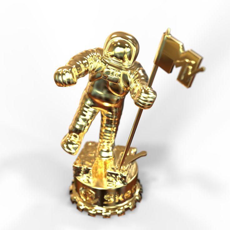 MTV Award - rendered in KeyShot by Eric Altorf