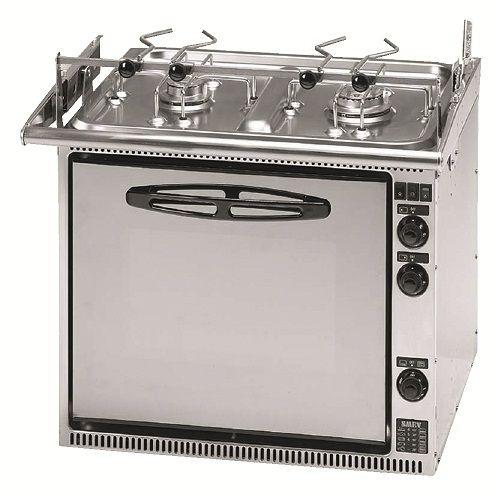 #Gasolspis #Dometic SMEV CU333 GTM Gasolspis i rostfritt stål med ugn på 32 liter och 2 spisbrännare.  Standardutförande inkluderar grillelement, ugnsbelysning, eltändning samtliga brännare, termostat med gasventil till ugnen, barnspärr samt kokkärlshållare. OBS! Balansupphängning säljes som tillbehör.