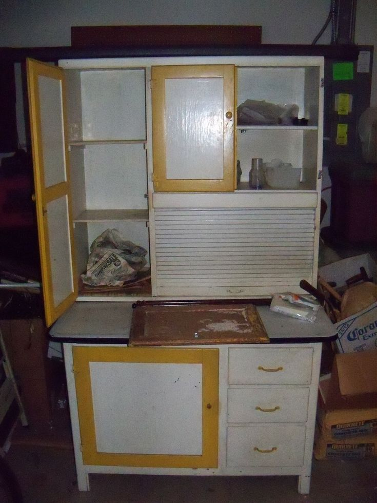 vintage kitchen hoosiers | Antique Kitchen Cabinet Hoosier BEFORE - Chic  Cicero Furniture . - 19 Best Kitchen Cabinets Images On Pinterest Hoosier Cabinet