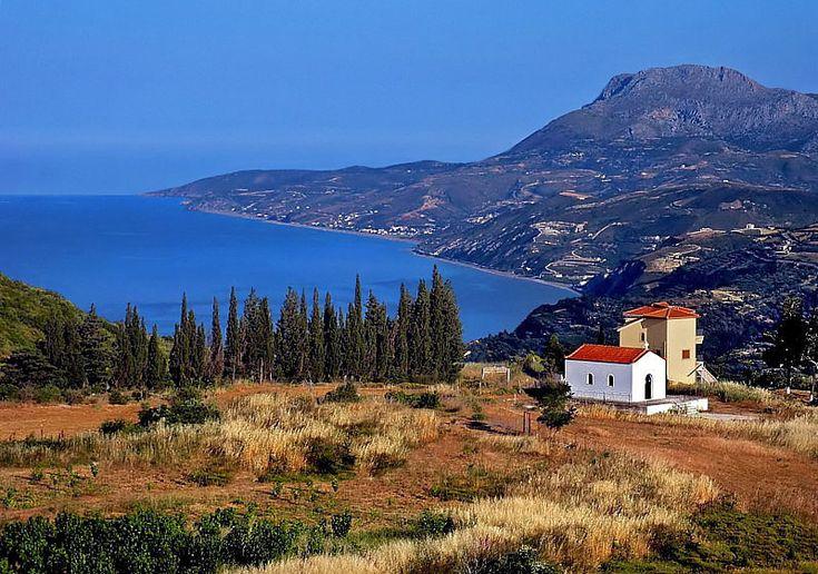 View to Aegean - Kymi, Evia