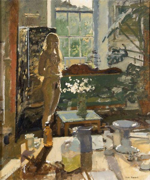 'Summer Interior' - Ken Howard (b. 1932)