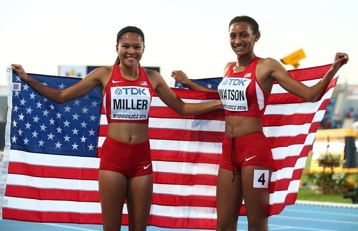 Happy 4th of July everyone! For the Red White & Blue   @image_of_sport . . . #trackandfield #tracknation #track #USA #4thofjuly #america #unitedstates