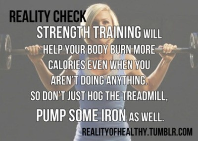 iron strength workout | Reality Check.... Strength training will help your ...