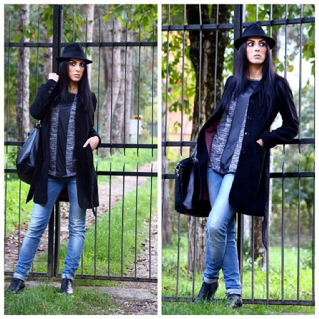 #cool #me #mystyle #afashionthink #fashionblogger #bonnet #bag #denim #lookoftheday #likeforlike #life #outfit #instaoutfit #igaaddicted #instagrammer #outfit #moda #instamoda #instacollage #igaaddicted #tagsforlikes #isabella #luisa