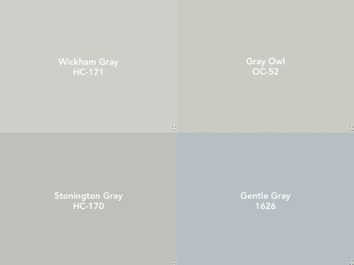 Paint Colors For The House Benjamin Moore Stonington Gray