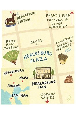 A Perfect Long Weekend in Healdsburg, California by Lettie Teague.  I could think of a better place to visit than Coppola . . .  But there are other good ideas.