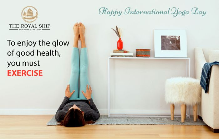 Develop a balance among your body, mind and soul.  #international #yoga #day