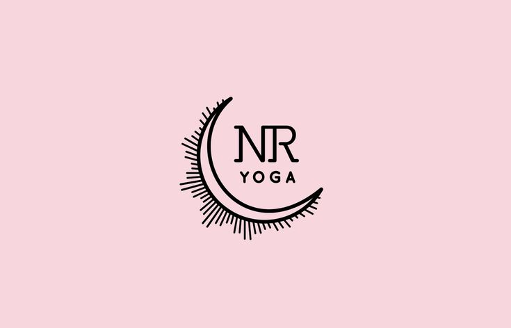 Nuria Reed Yoga logo design by pernillaojergren.com