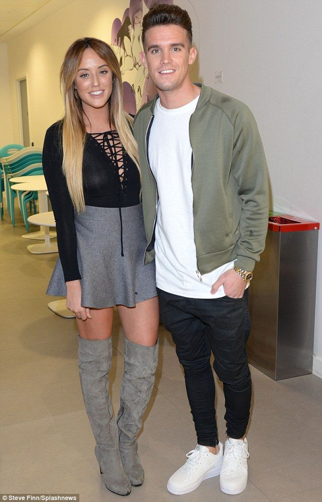 All change: Charlotte (here with ex-boyfriend Gaz Beadle) was expected to return to Geordie Shore for  special appearances and cameos despite dramatically quittingover ongoing conflict with Gaz